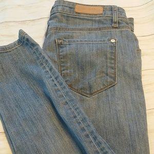 Baldwin rivington Midrise peg leg crop jeans sz 32